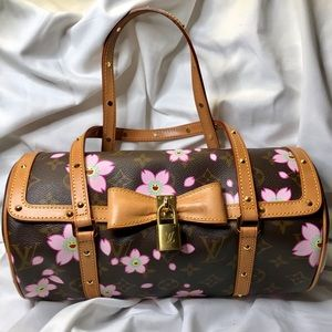 Louis Vuitton Cherry Blossom Satchel By Murakami